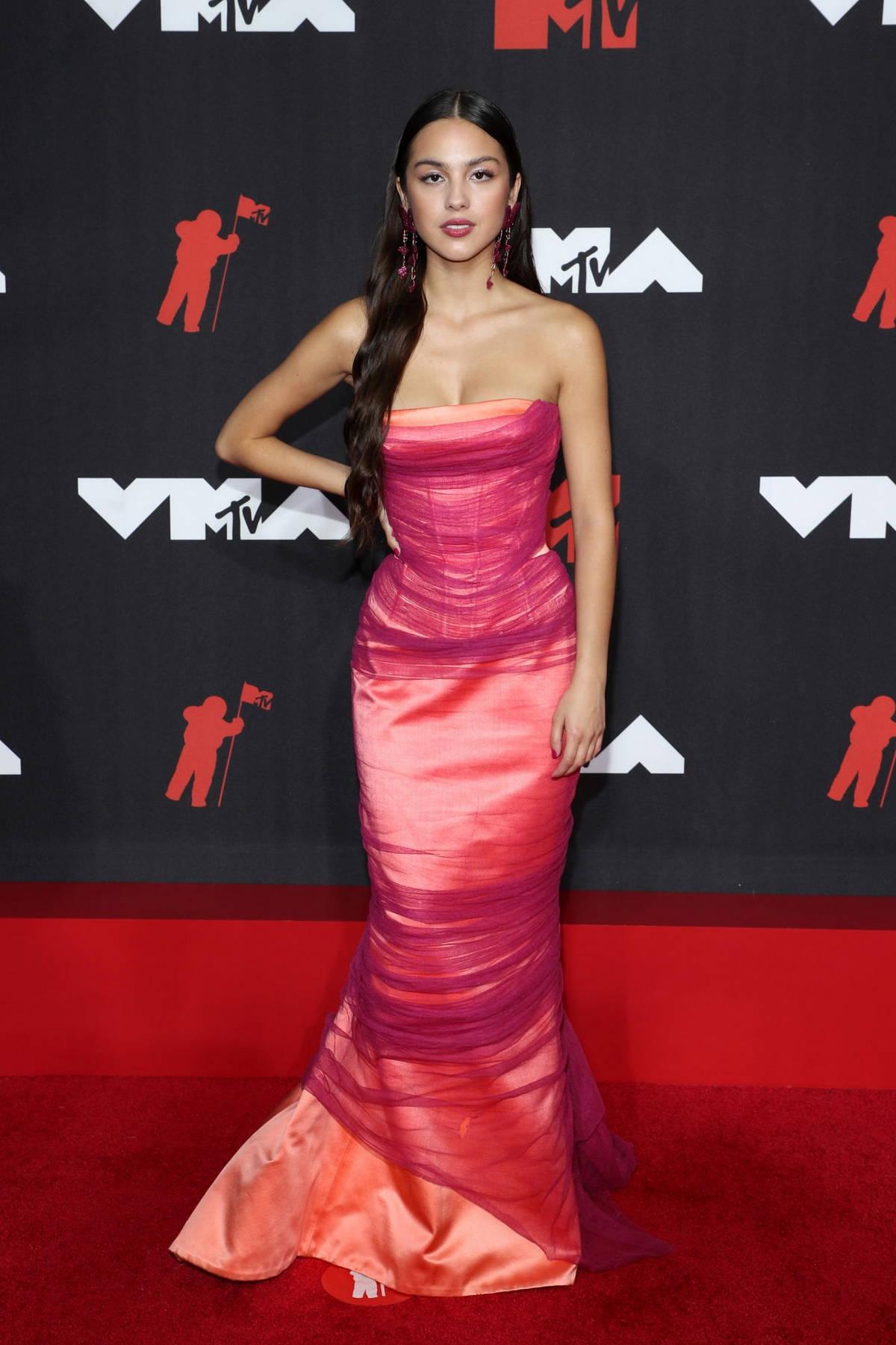 Olivia Rodrigo attends the 2021 MTV Video Music Awards at Barclays Center in Brooklyn, New York City
