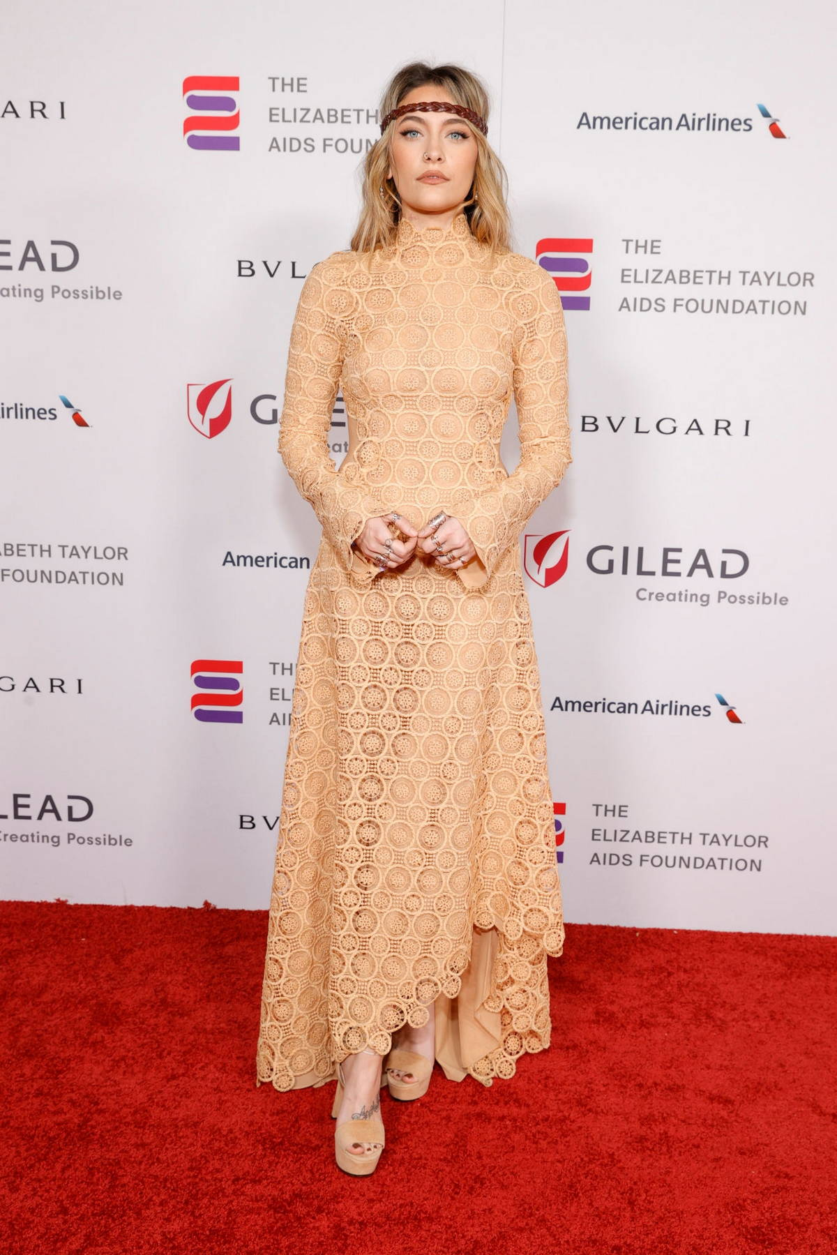 Paris Jackson attends The Elizabeth Taylor Ball To End AIDS in West Hollywood, California