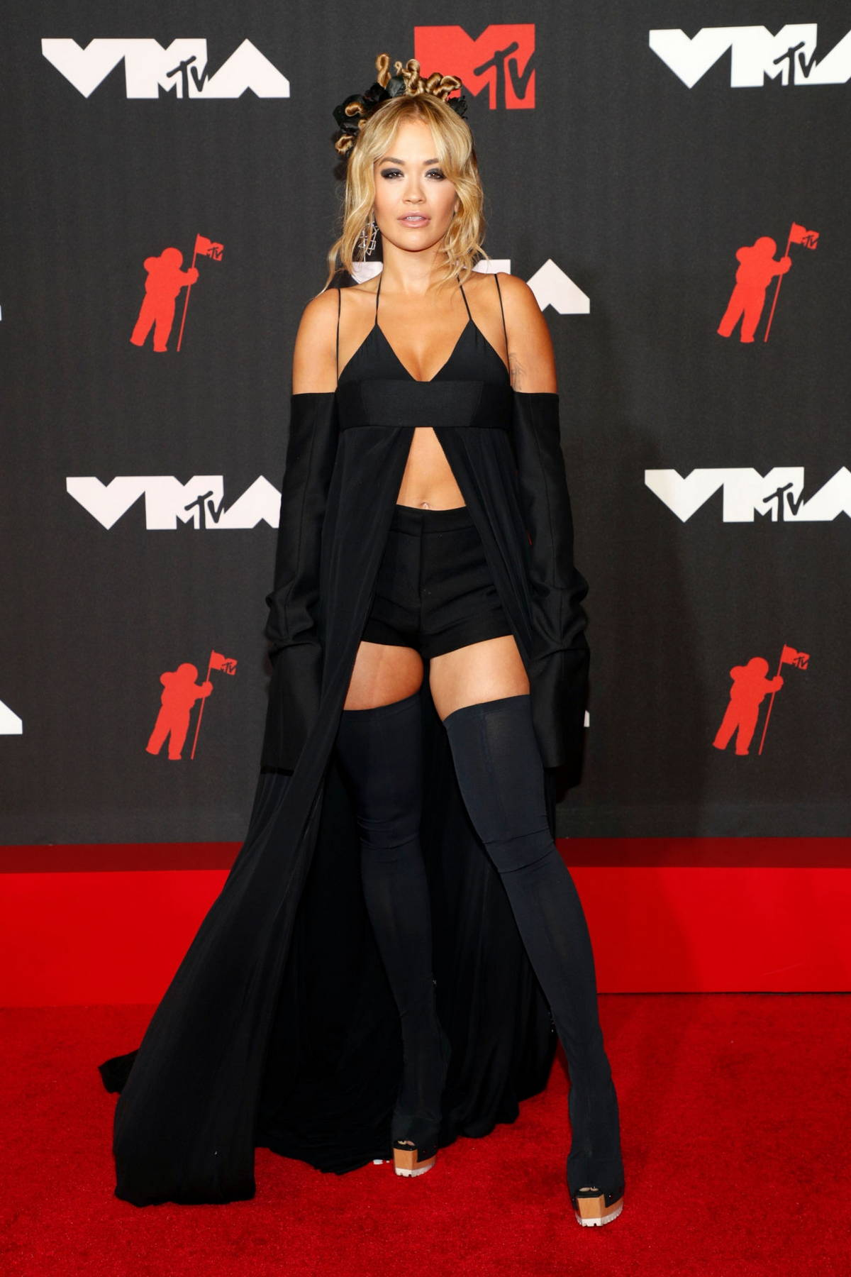 Rita Ora attends the 2021 MTV Video Music Awards at Barclays Center in Brooklyn, New York City