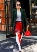 Rita Ora displays her eclectic sense of style while stepping out for the day in New York City