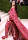 Rosalía attends The Met Gala Celebrating In America: A Lexicon Of Fashion at Metropolitan Museum of Art in New York City