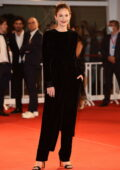 Ruth Wilson attends the Premiere of 'Mona Lisa And The Blood Moon' during the 78th Venice International Film Festival in Venice, Italy