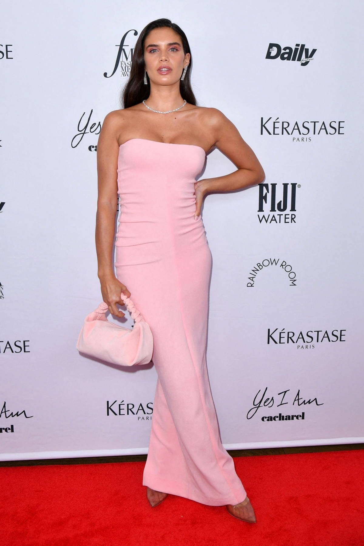 Sara Sampaio attends the 2021 Daily Front Row Fashion Media Awards in New York City