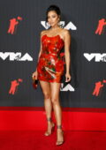 Shay Mitchell attends the 2021 MTV Video Music Awards at Barclays Center in Brooklyn, New York City