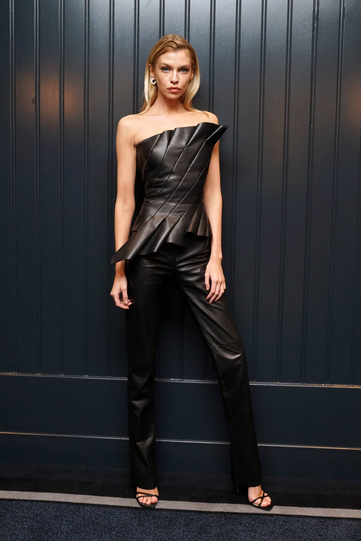 Stella Maxwell attends the 2021 CR Fashion Week party during New York Fashion Week in New York City