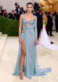 Taylor Hill attends The Met Gala Celebrating In America: A Lexicon Of Fashion at Metropolitan Museum of Art in New York City