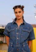 Taylor Hill attends the STAUD Spring 2022 show during New York Fashion Week in New York City