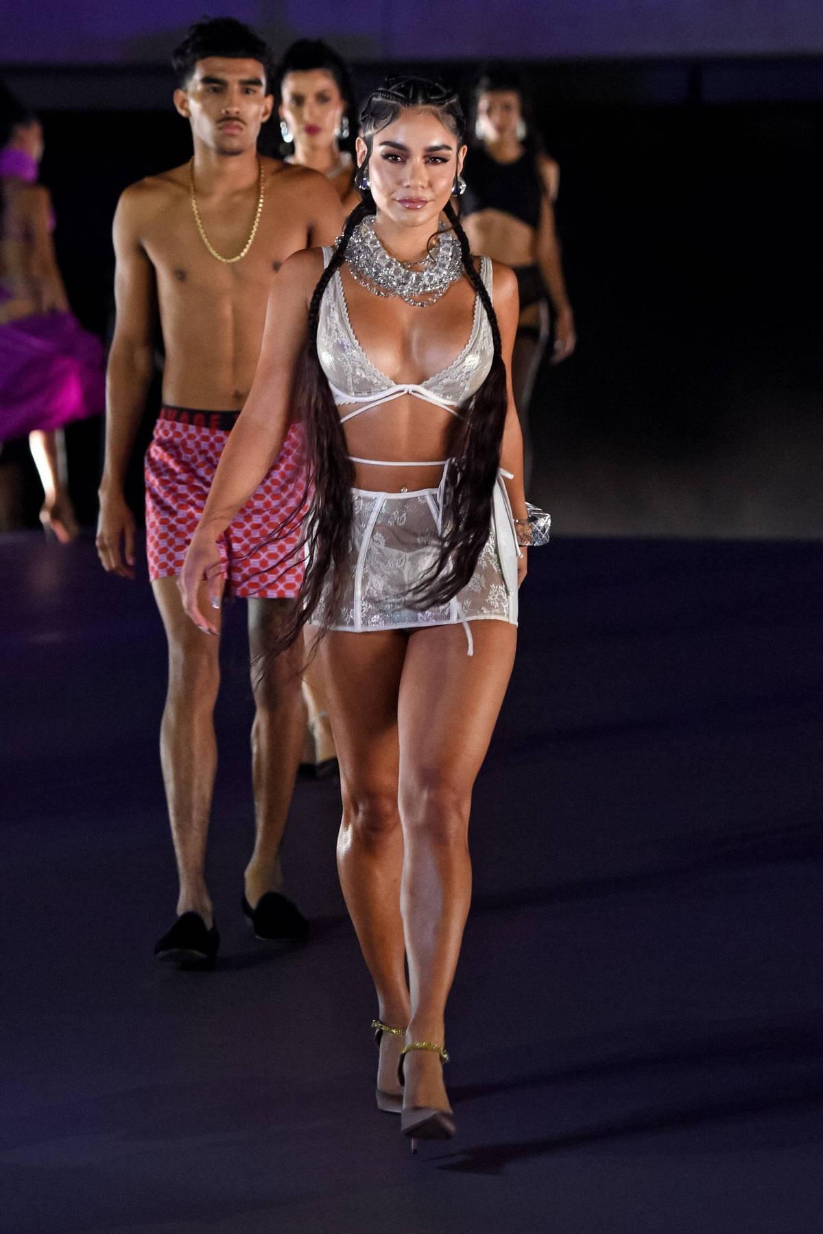 Vanessa Hudgens walks the runway for Fenty X Savage Fashion Show Vol 3 in Los Angeles