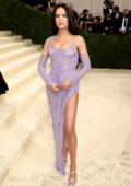 Zoey Deutch attends The Met Gala Celebrating In America: A Lexicon Of Fashion at Metropolitan Museum of Art in New York City
