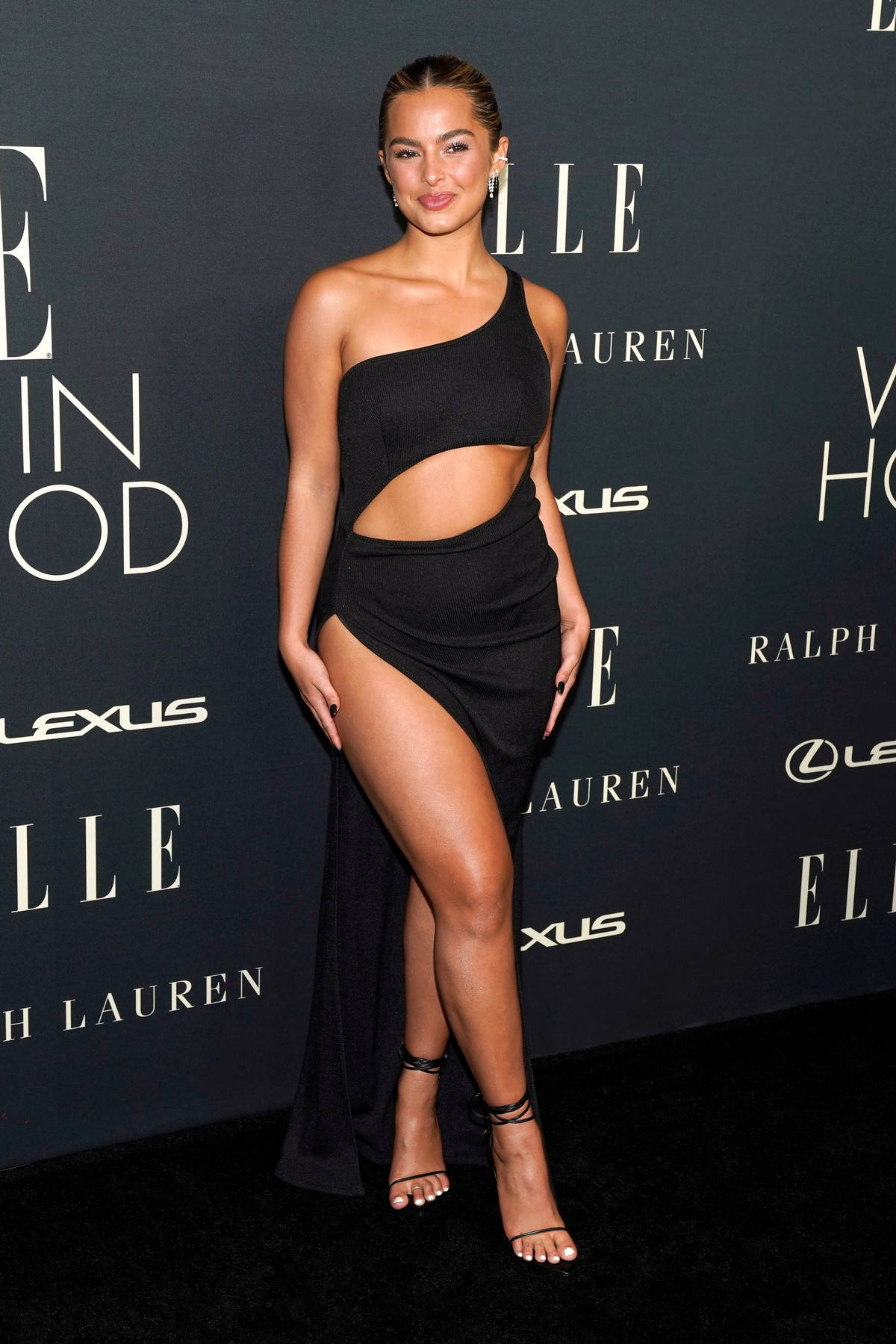 Addison Rae attends ELLE's 27th Annual Women In Hollywood Celebration in Los Angeles