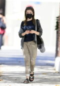 Anna Kendrick keeps it casual while out running a few errands in Los Angeles