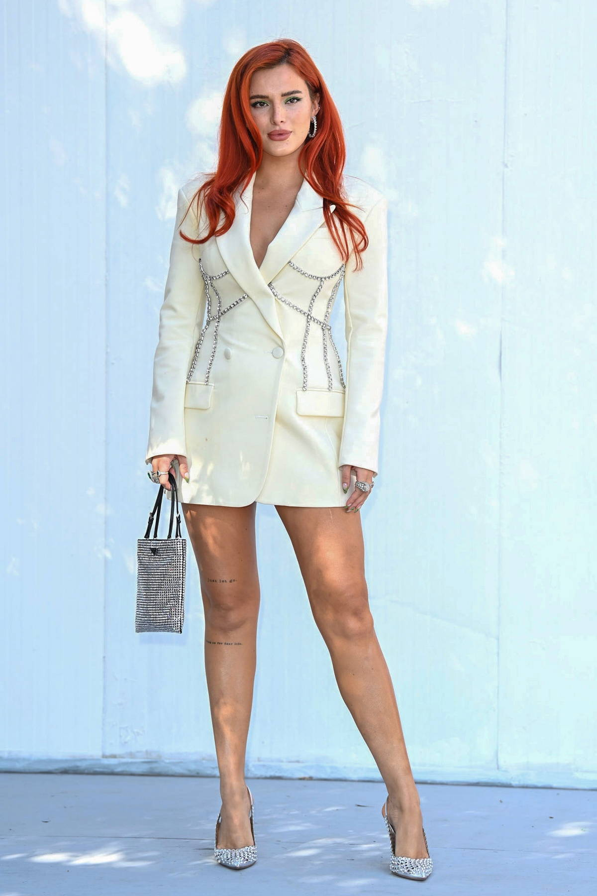 Bella Thorne attends the photocall for 'Time Is Up' during the 19th Alice Nella Città 2021 at Casa Alice in Rome, Italy