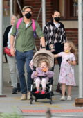 Blake Lively and Ryan Reynolds step out with their kids and Ryan's mother in New York City