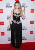 Dove Cameron attends New York City Ballet's 2021 Fall Fashion Gala at Lincoln Center Plaza in New York City
