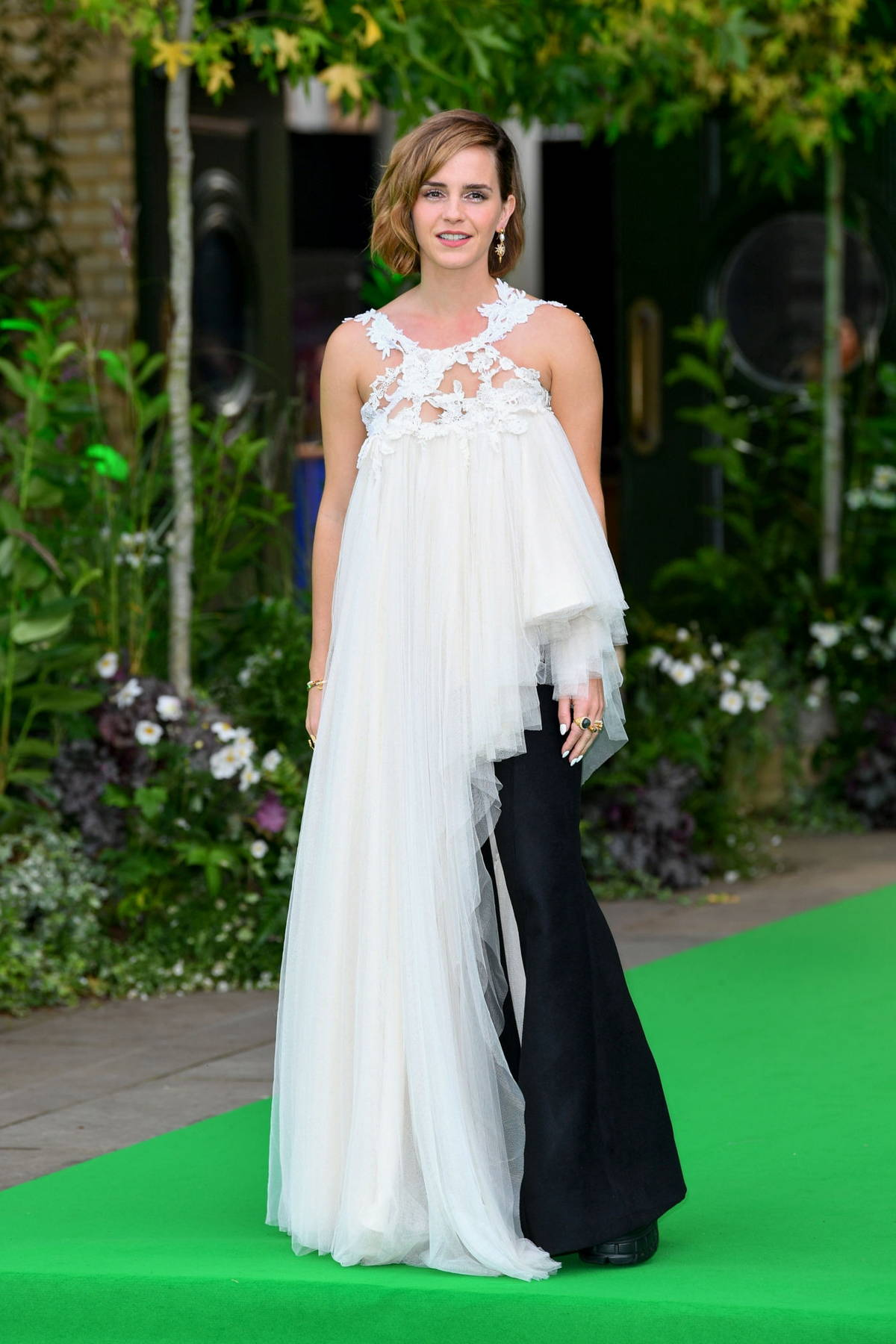 Emma Watson attends the 2021 Earthshot Prize Awards Ceremony at Alexandra Palace in London, UK