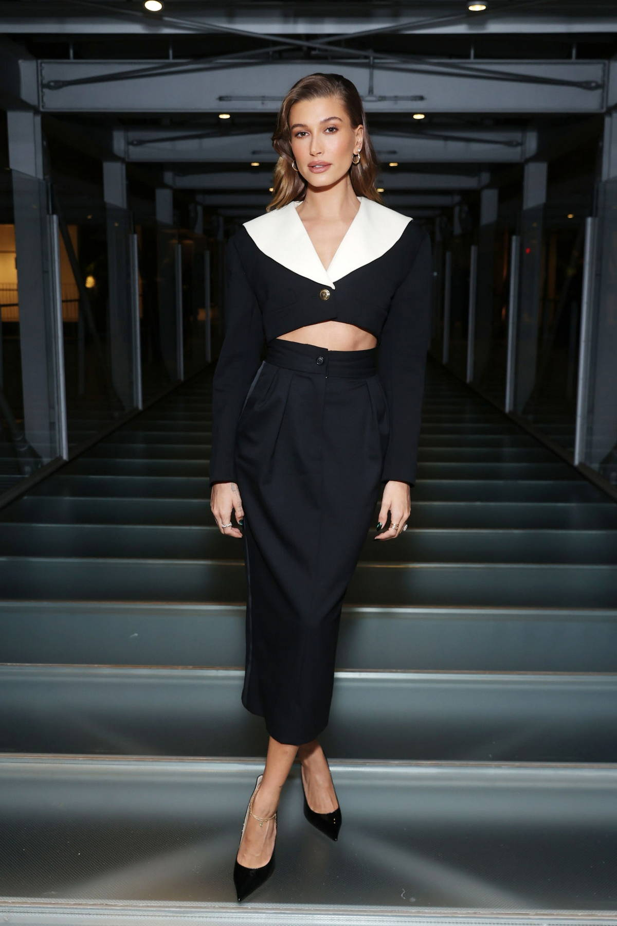 Hailey Bieber attends ELLE's 27th Annual Women In Hollywood Celebration in Los Angeles