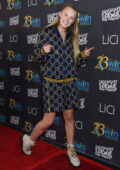 JoJo Siwa attends the 23rd Women's Images Awards in Beverly Hills, California