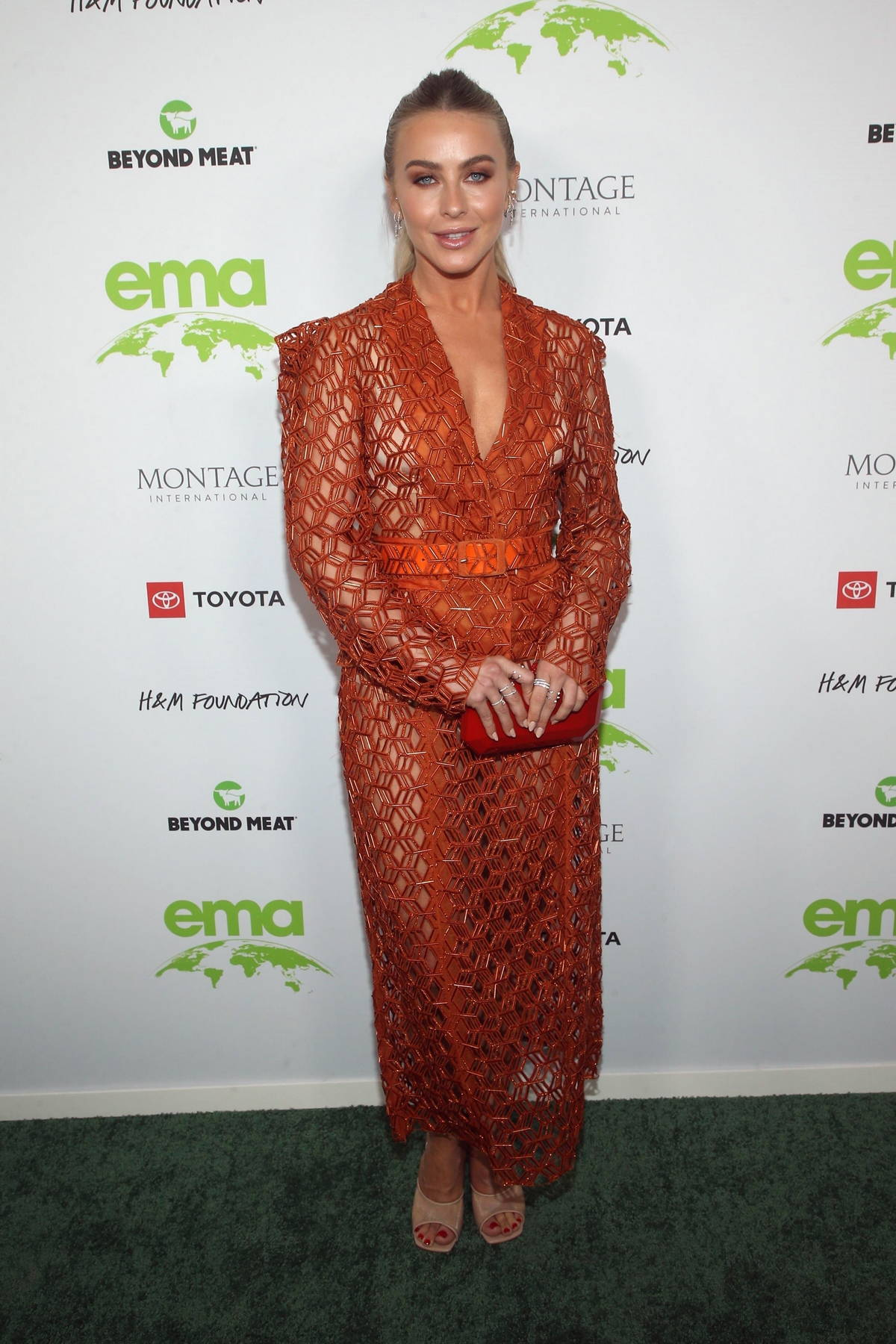Julianne Hough attends the 2021 EMA Awards Gala at Gearbox LA in Los Angeles