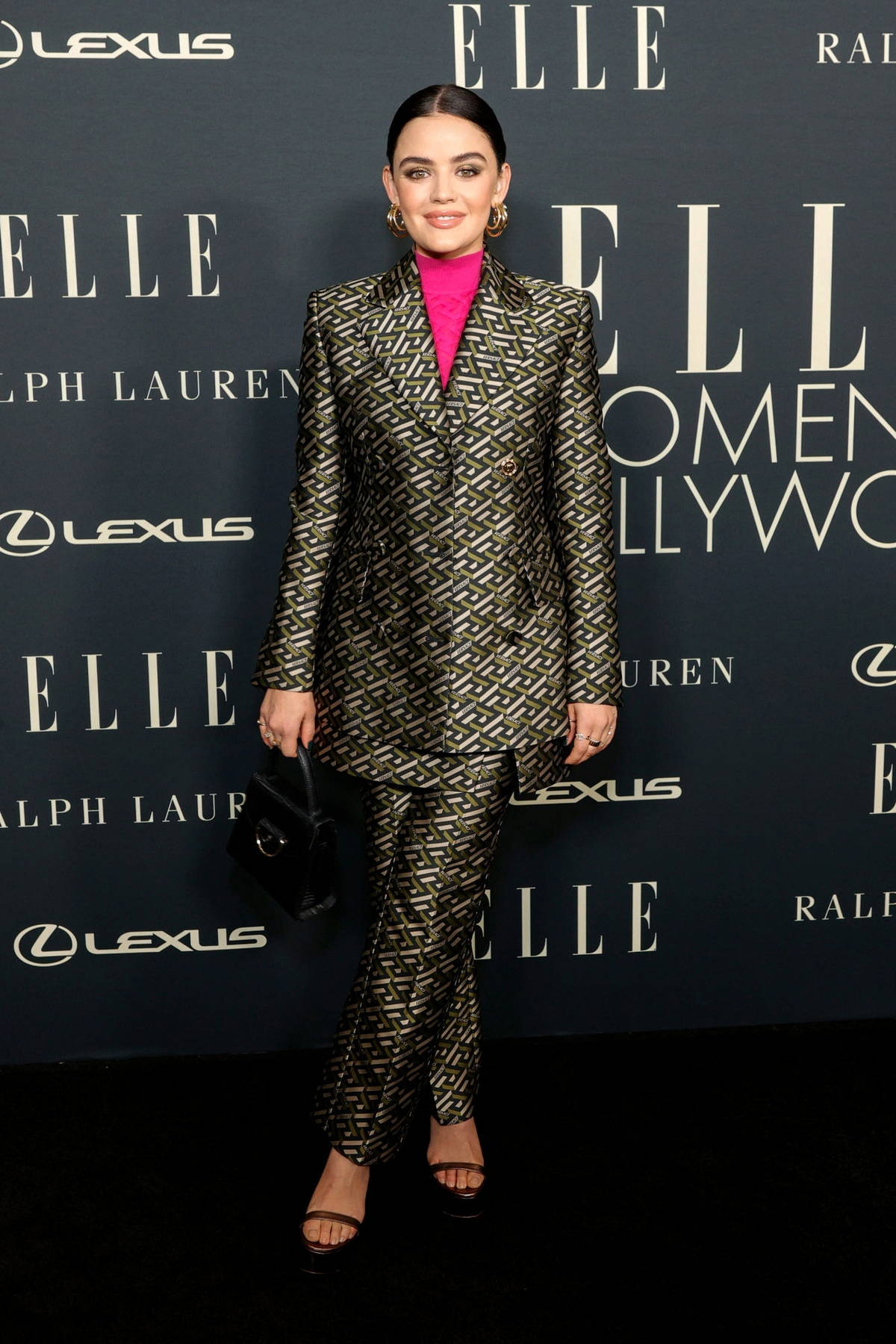 Lucy Hale attends ELLE's 27th Annual Women In Hollywood Celebration in Los Angeles