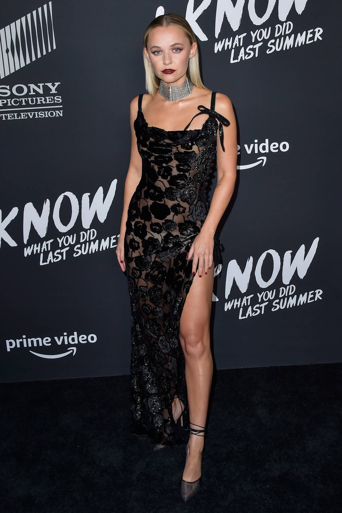 Madison Iseman attends the Premiere of 'I Know What You Did Last Summer' at The Hollywood Roosevelt in Los Angeles