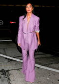 Nicole Scherzinger steps out with her boyfriend Thom Evans for dinner at Craig's in West Hollywood, California