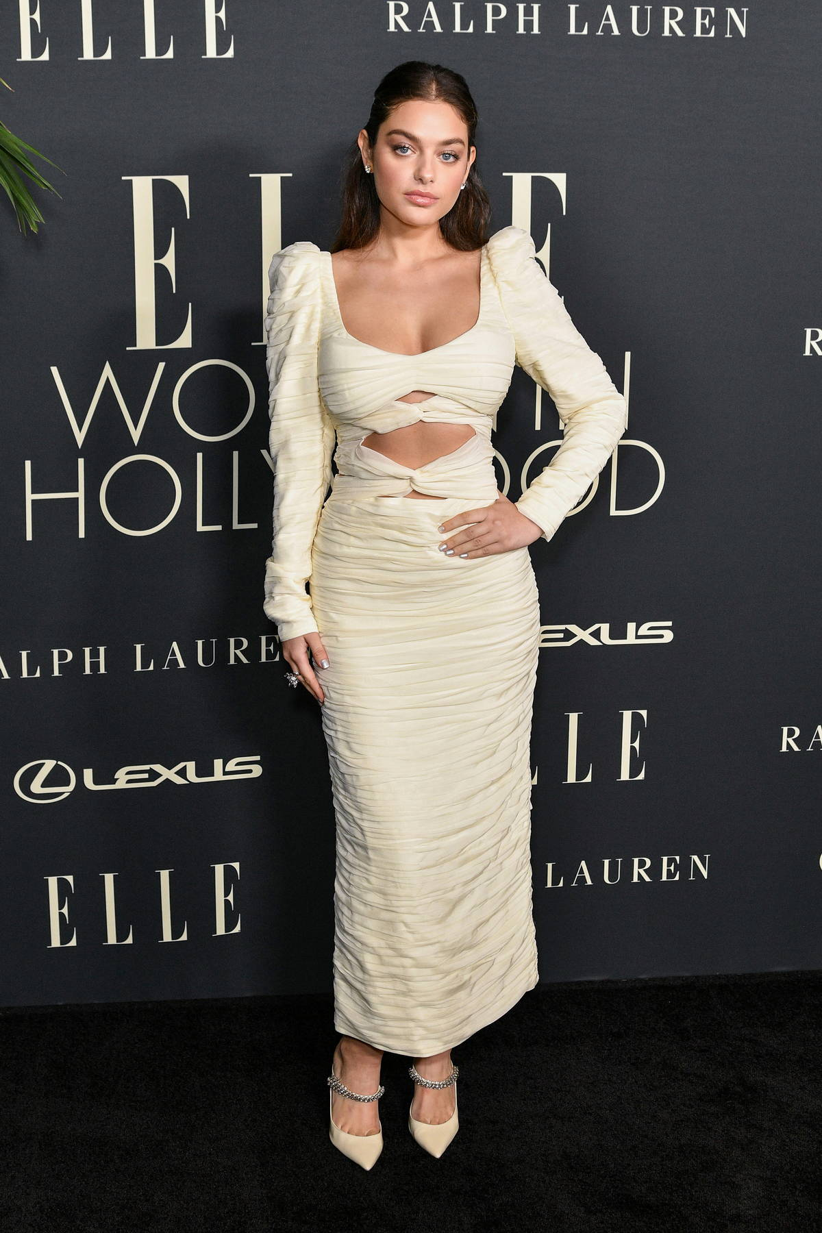 Odeya Rush attends ELLE's 27th Annual Women In Hollywood Celebration in Los Angeles