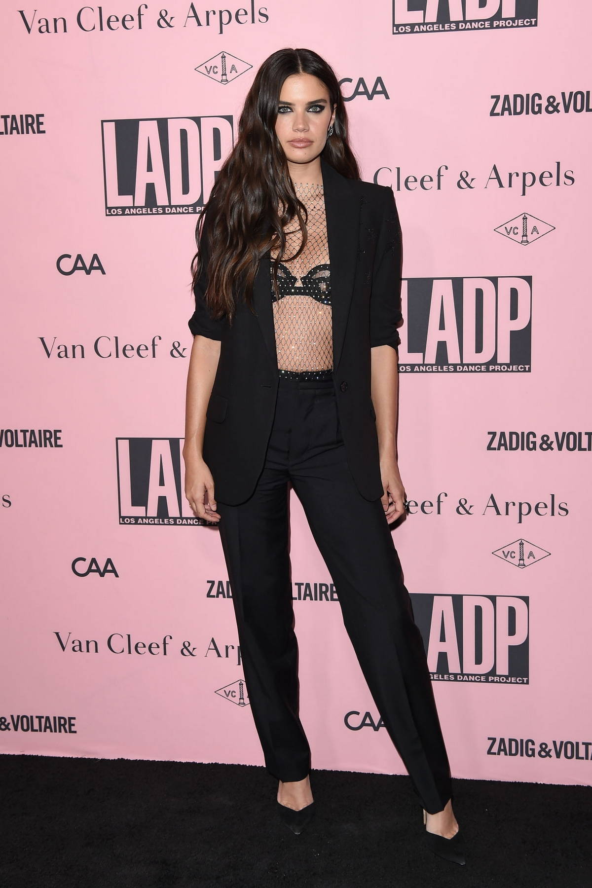 Sara Sampaio attends the Unforgettable Evening Under The Stars to Benefit LA Dance Project in Los Angeles