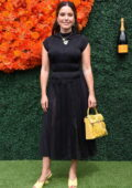 Sophia Bush attends the Veuve Clicquot Polo Classic at Will Rogers State Historic Park in Pacific Palisades, California