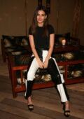 Victoria Justice attends the Belles Beach House opening at Belles Beach House in Venice, California