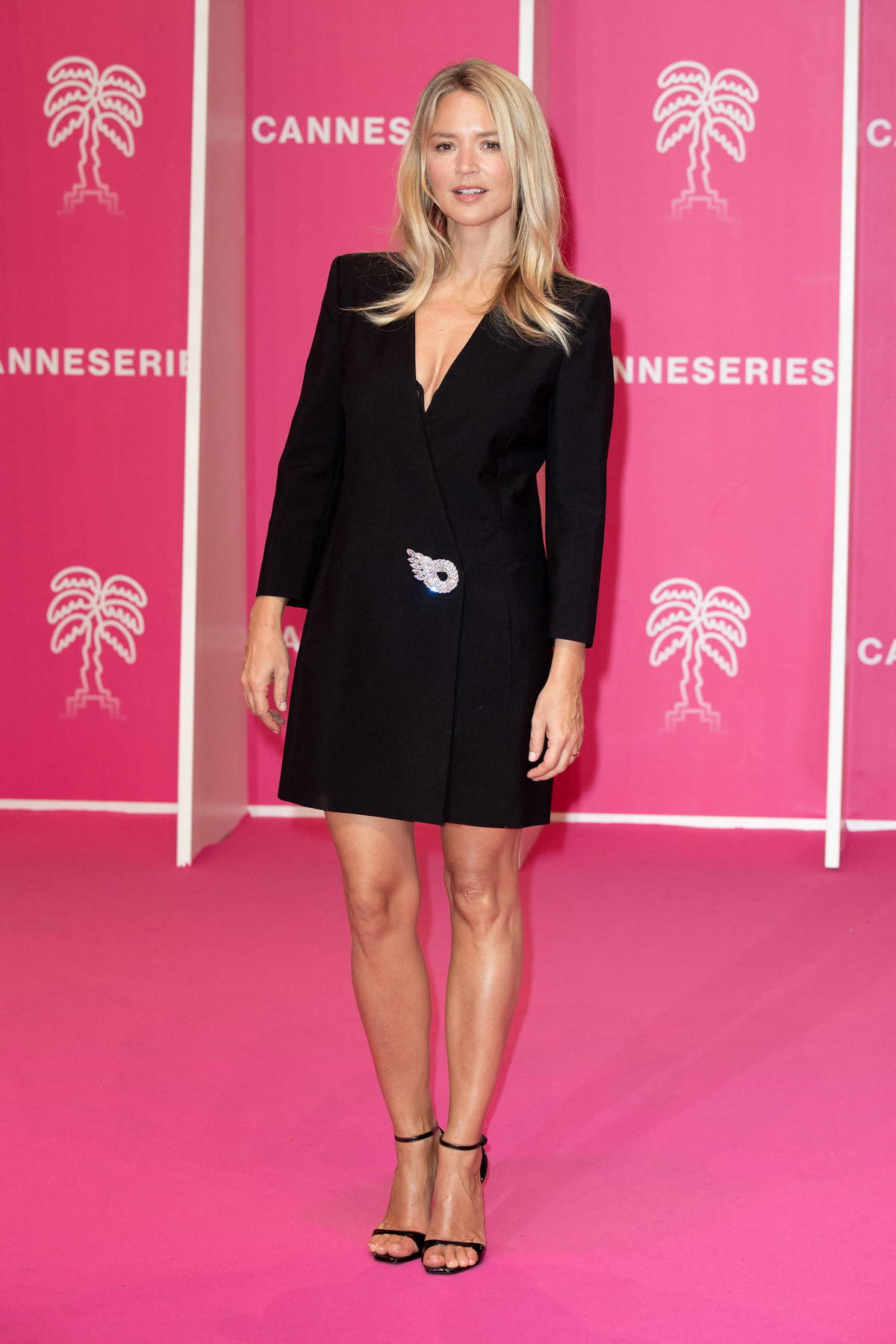 Virginie Efira attends the 4th edition of the Cannes International Series Festival in Cannes, France
