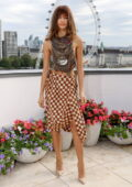 Zendaya attends the photocall for 'Dune' during the 65th BFI London Film Festival at Corinthia Hotel in London, UK
