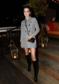 Zoey Deutch attends the InStyle and Dr. Barbara Sturm Badass Women Dinner in West Hollywood, California